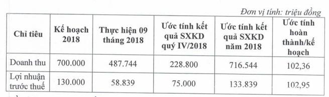 hodeco uoc lai sau thue 2018 gan 134 ti dong huy phat hanh esop nhung muon mua 5 trieu co phieu quy